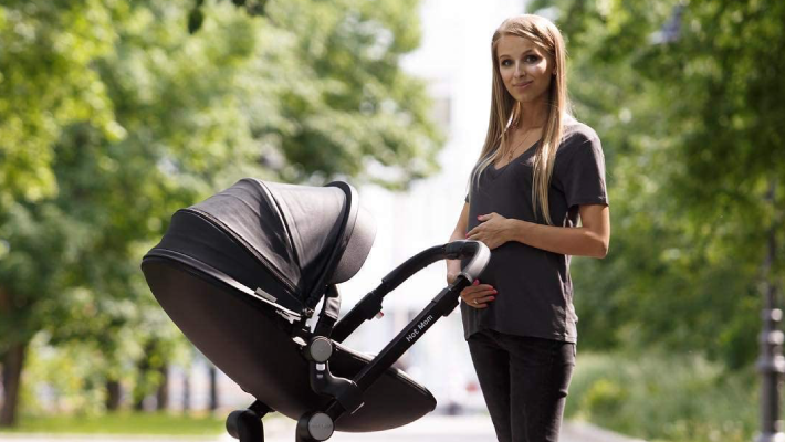 10_Carrinho de bebé Hot Mom 3 em 1